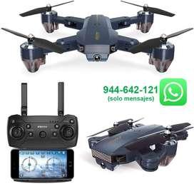 DRONE, PLEGABLE, C/CÁMARA, WIFI, FPV CON 720P HD CÁMARA, MODO DE RETENCIÓN DE ALTITUD, RC DRONE CUADRICÓPTERO, RTF.
