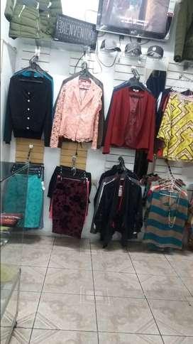 Vendo negocio de ropa importada