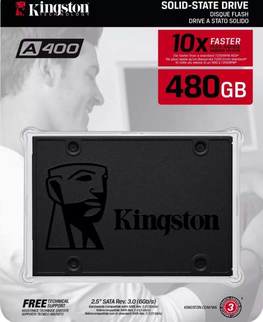 Disco duro solido kingston de 480gb- nuevo y sellado 0