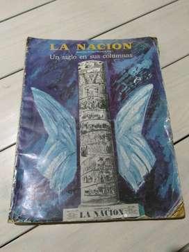 Libro La Nación Un Siglo en Sus Columnas