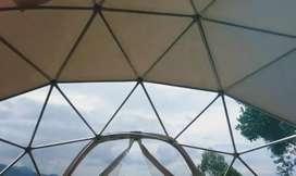 Glamping domos geodesicos