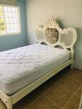 Vendo cama vintage, excelente estado
