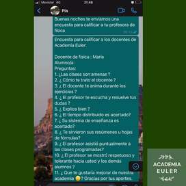 CLASES PARTICULARES PARA INGRESO UNIVERSITARIO