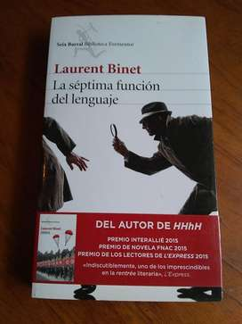 La séptima función del lenguaje - Laurent Binet