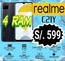 REALME C21Y - 4 ram