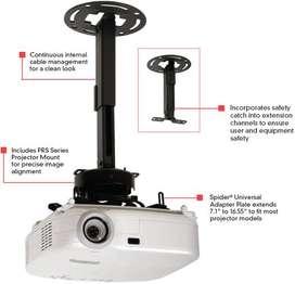 Soportes para video beam instalacion inmediata.