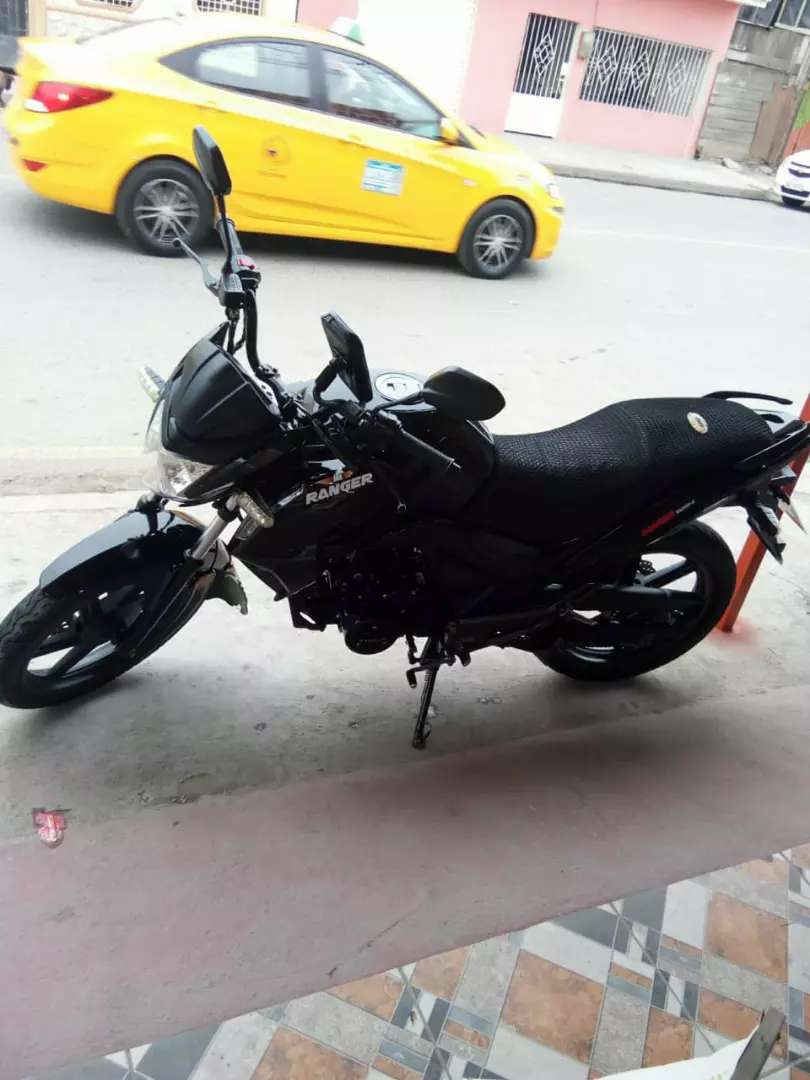 Vendo moto ranger 0