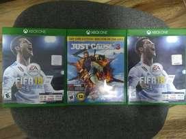 Just Cause 3 y 2 FIFA 18