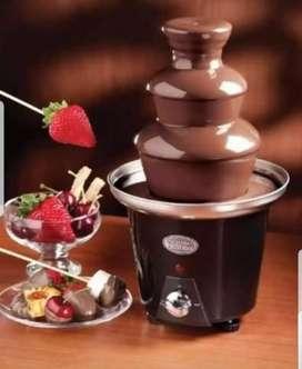 Se alquila linda fuente de chocolate