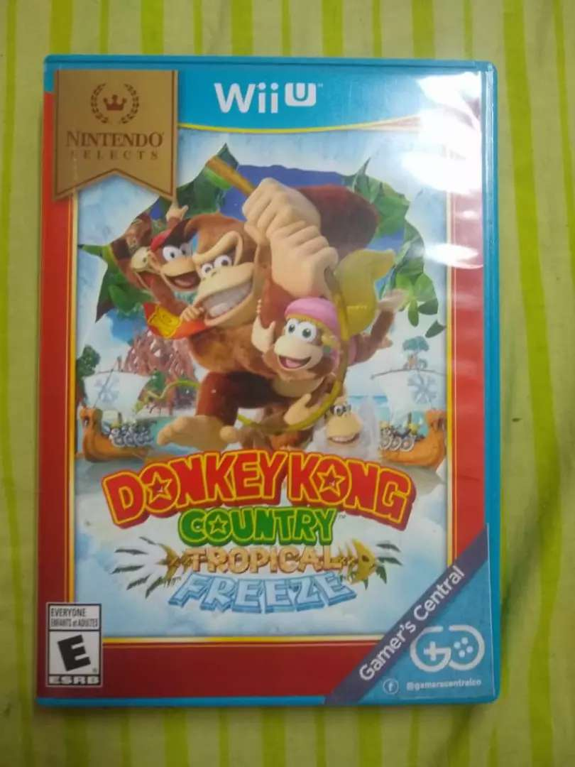 Dk country tropical Freeze Wii u 0