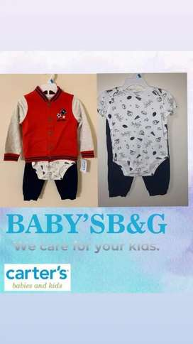 Es ropa bebes y kids, todos los productos son nuevos.