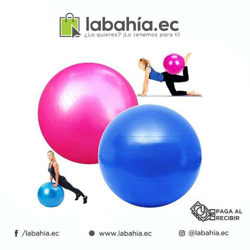 Bola de yoga para ejercicios funcionales pilates yoga y mas 0