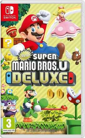 Juego New Super Mario Bros U Deluxe Nintendo Switch