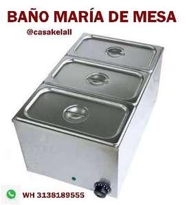 BAÑO MARÍA DE MESA