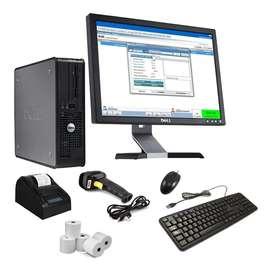 Kit Punto De Venta Pos completo equipos y software