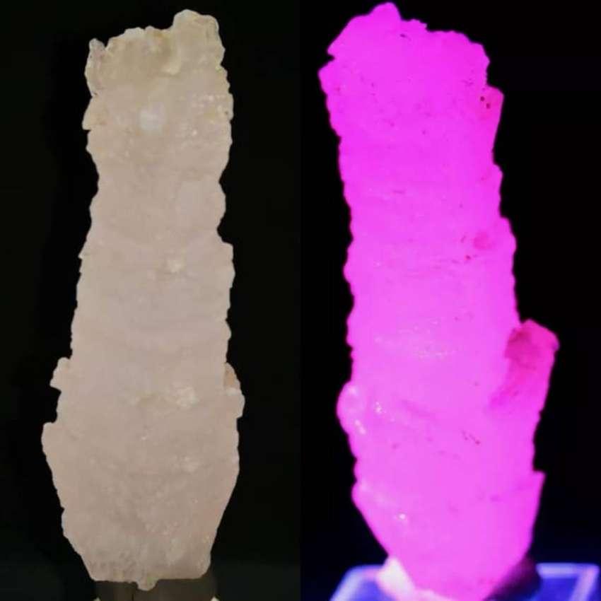 Calcita Fluorescente Piedra 100% Natural 275 Ct $ 300.000