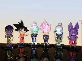 Dragon Ball Super lote de 6 figuras SD