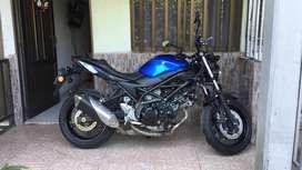 Se VENDE motocicleta SV650