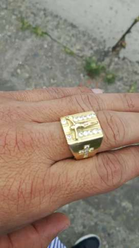 Anillo oro italiano