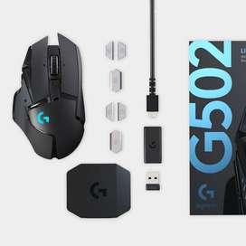 Venta de mouse logitech g502 inalambrico