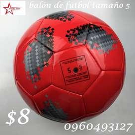 balón de fútbol tamaño 5  a $8