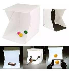Caja De Luz Mini Estudio Fotográfico Foto Para Catalogo