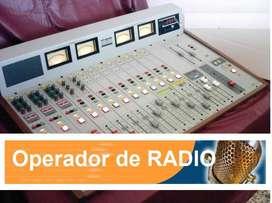 Operador de radio AM Pref. CABA