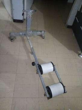 ,rodillo para bicicleta (ejercicio)