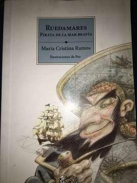 Libro Ruedamares, Pirata de la mar bravía