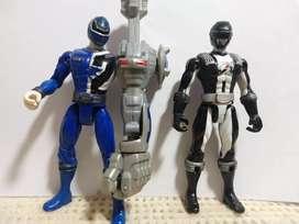POWER RANGERS - 2 Figuras Articuladas