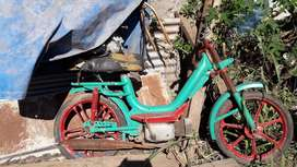 Ciclomotor juki caño