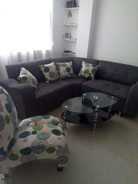 Se venden muebles JUEGO DE SALA