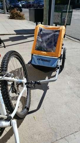 Trailer Carro de Bici para Niño (usado)