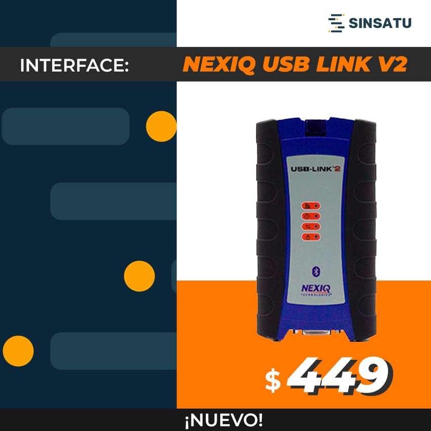 NEXIQ USB LINK V2 BLUETOOH EDITION + 1 INSTALACIÓN COMPATIBLE