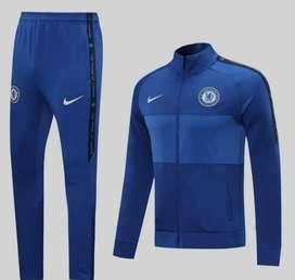 Sudadera Fútbol Chelsea Azul Rey