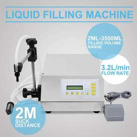 Envasadora de Liquidos Semiautomatica
