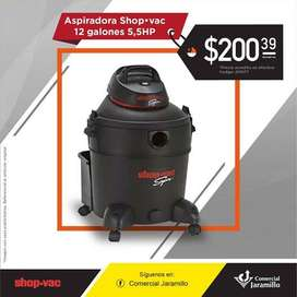 Aspiradora - Shop Vac - 12 Galones 5.5HP