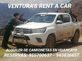 ALQUILER DE CAMIONETAS EN HUANACAYO