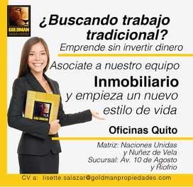 Agentes de Bienes Raíces Quito