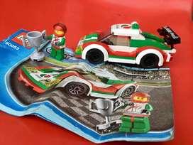Lego city carro de carreras
