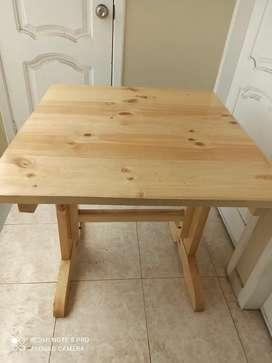 Vendo Mesas y sillas usadas