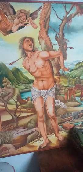 Obra de arte original certificada maestro Danilo granada colombiano
