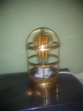 Lámpara Antigua en Bronce para Barcos