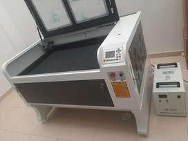 máquina láser 90x60