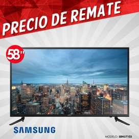 Televisor Smart Tv Samsung 58 Pulgadas Ultra Hd 4k Serie 7