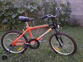 Bicicleta de niño Tomaselli rodado 20