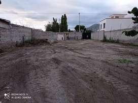 Se renta un terreno  de 800 metros cuadrados.
