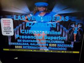 LAS VERDADERAS AZAFATAS CURSO ONLINE SUPERIOR EN GUAYAQUIL