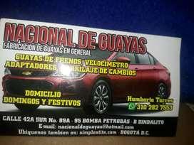 Se necesita experto en instalar Guayas y hacer de todas clases de carro