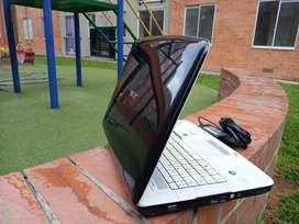 Portatil Acer Intel Pentium dual core, 160 gb, 2 de ram, perfectas condiciones